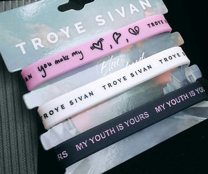 want, troye, and merch image