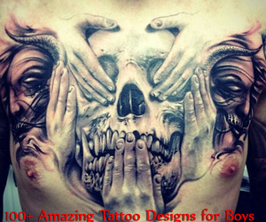 boys, designs, and amazing tattoo image