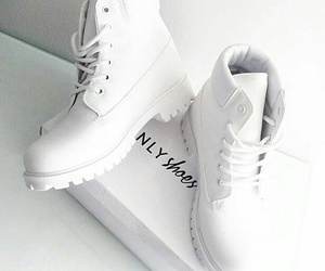 white, shoes, and boots image