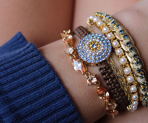 bracelets, photo, and parisiandreams image