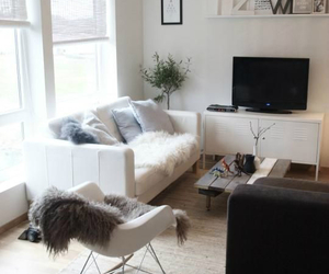decoration, room, and tv image