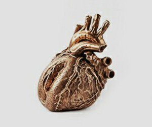 gold and hearts image