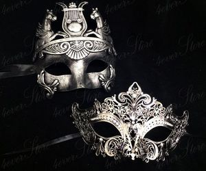 art, fashion, and masquerade image