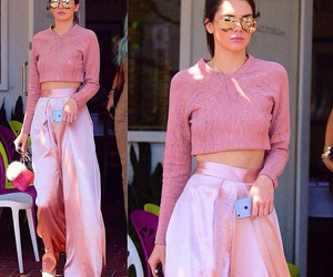 pink and kendall jenner image