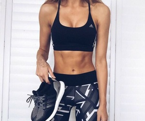 fitness, adidas, and fit image