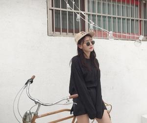 sunglasses, cap, and fashion image