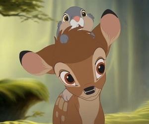 bambi, disney, and cartoon image