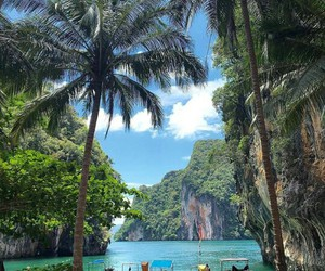 thailand, nature, and travel image