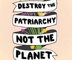 feminist, girls, and patriarchy image