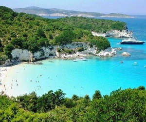 beach, cruise, and places image