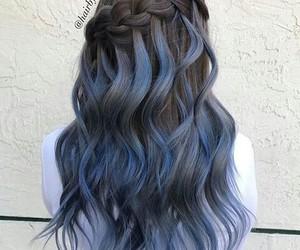 black, blue, and instagram image
