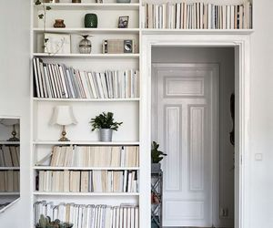 book, home, and white image