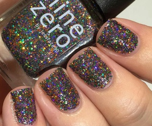 design, glitters, and nail image