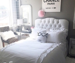 beauty, bedroom, and bright image