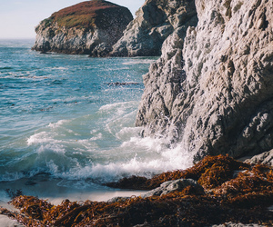 sea, nature, and ocean image
