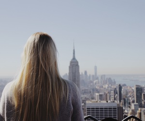 beautiful, empire state, and girl image