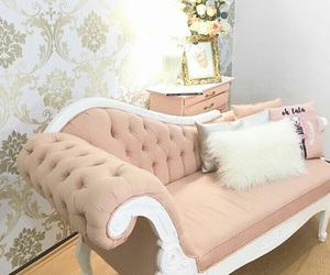 room, shabby chic, and decoracion image