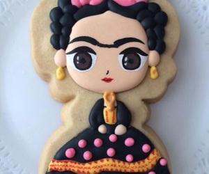 frida kahlo, Cookies, and food image