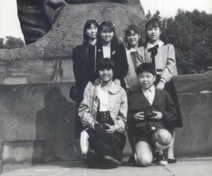 asian, vintage photo, and warsaw image