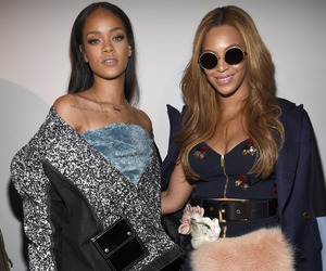 beyonce knowles, rihanna, and riri image