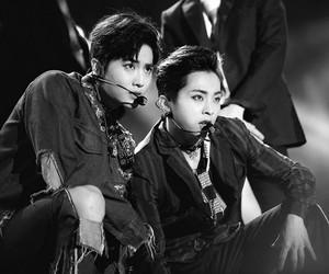 exo, xiumin, and suho image