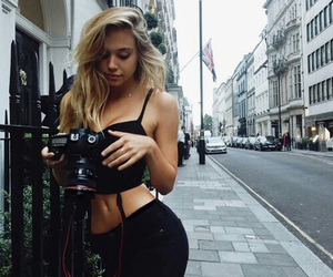alexis ren, model, and blonde image
