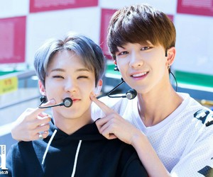 Seventeen, minghao, and hoshi image