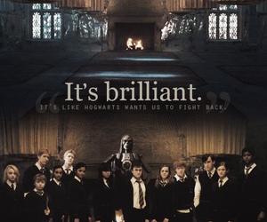 harry potter, dumbledore's army, and quote image