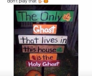 funny, Halloween, and ghost image