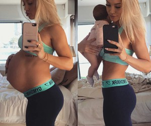 babies, blonde, and daughter image