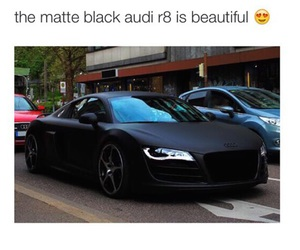 audi, black, and car image
