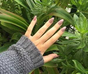 green, hand, and nail polish image