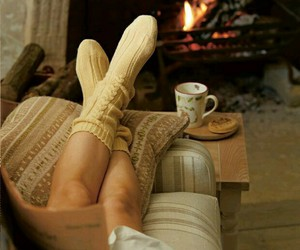 winter, autumn, and cozy image