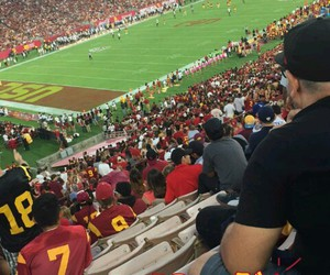 usc, football game, and snapchat story image
