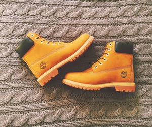 beauty, timberlands, and boots image