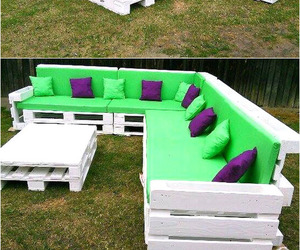 pallet couch, pallet couch ideas, and diy pallet couch image