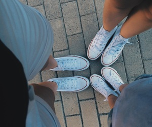 all star, autumn, and best friends image