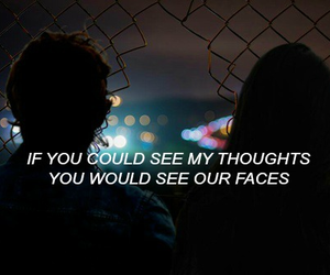 quotes, thoughts, and couple image