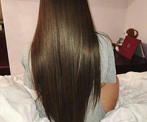 hair, long hair, and beauty image