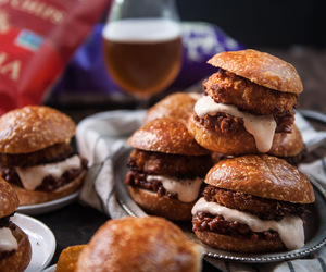 bread, burger, and food image