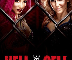 charlotte, wwe, and hell in a cell image