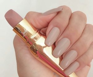 nails, girl, and makeup image