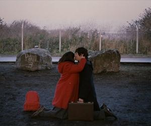 submarine, couple, and film image