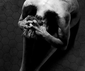 boy, depressed, and scream image
