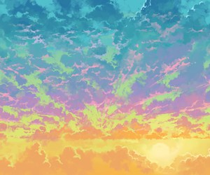 clouds, tumblr, and background image