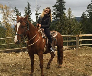 little mix, perrie edwards, and horse image