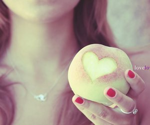 love, girl, and heart image