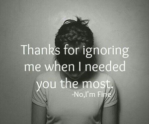 i need you and ignore image