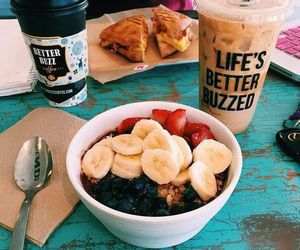 food, fruit, and breakfast image