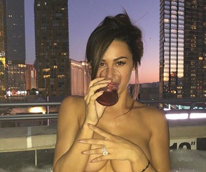 babe, beautiful, and champagne image
